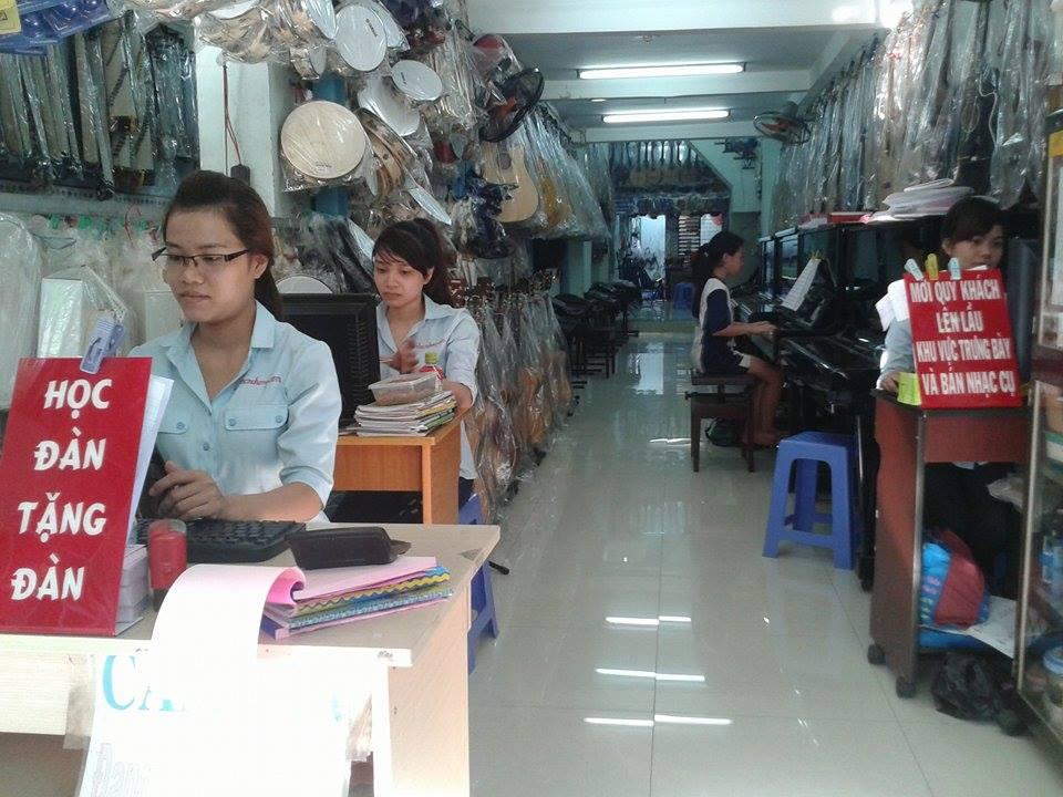 Cửa Hàng Bán Nhạc Cụ Quận Gò Vấp tphcm